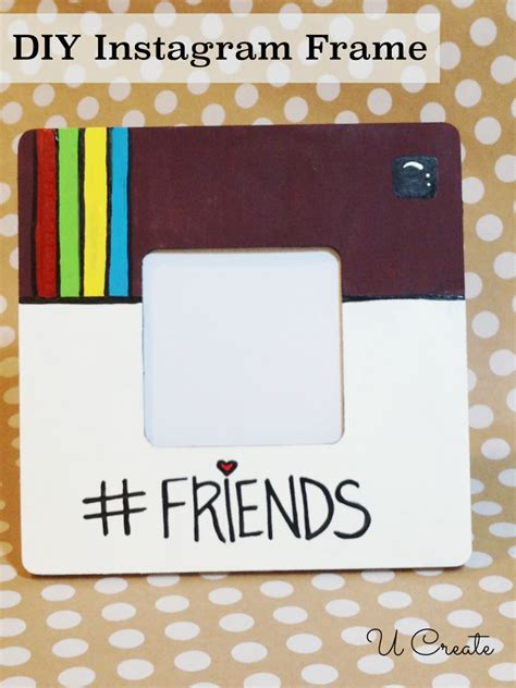diy instagram diy instagram frame u create
