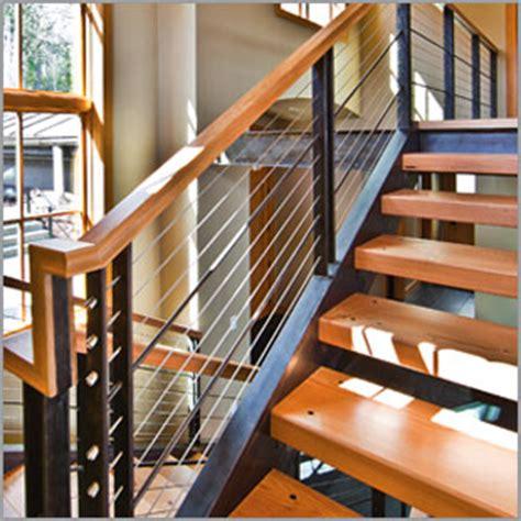 Home Depot Stair Railings Interior Cablerail By Feeney Standard Assemblies