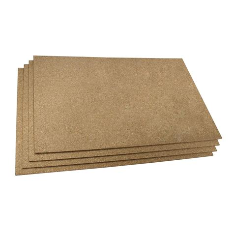 warmlyyours cork 2 ft x 3 ft insulating underlayment