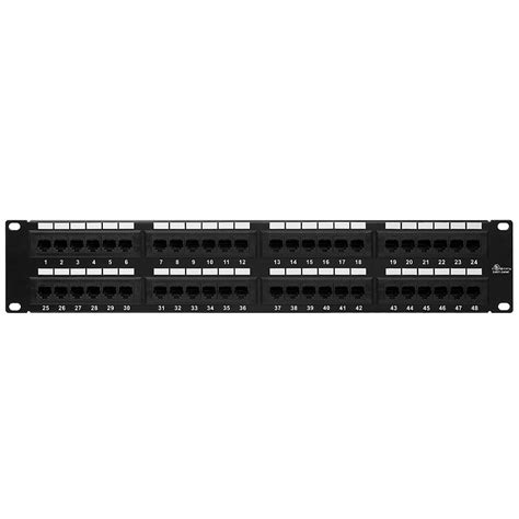 48 patch panel cat5e patch panel 110 type 48 enhanced
