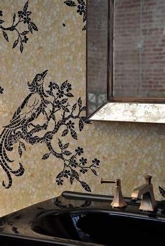 piastrelle con disegni piastrelle mosaico in bagno foto 12 40 design mag