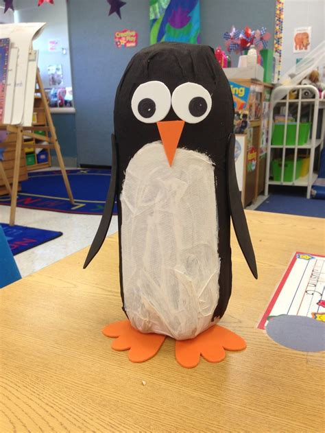 How To Make A Paper Mache Penguin - soda bottle penguin had the paper m 226 ch 233 so