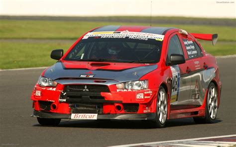 mitsubishi racing cars mitsubishi evo x race car debut widescreen car
