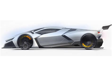 lamborghini cnossus supercar concept version the car lamborghini cnossus concept design what do you