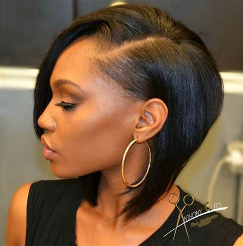 Black Hairstyle Cut In Back by 60 Showiest Bob Haircuts For Black