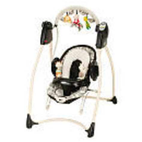 black and white baby swing graco swing n bounce swing 1764336 reviews viewpoints com