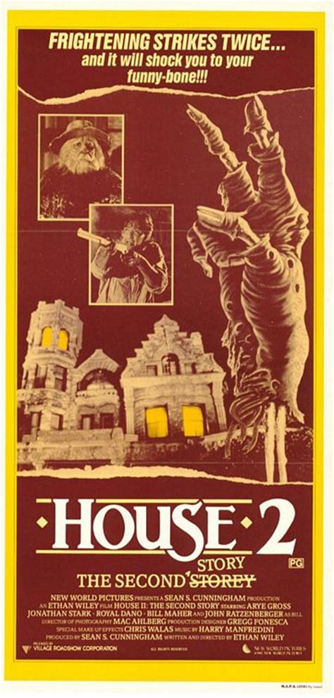 house ii the second story 1987 imdb house ii the second story movie poster 2 of 3 imp awards