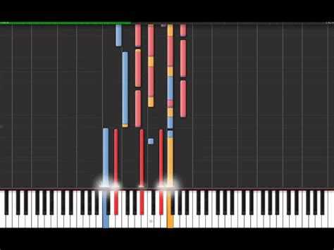 Sho Je L Aime fran 231 is cabrel je l aime a mourir piano virtuel synthesia