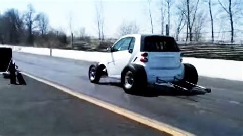 V8 Smart Car by The Drag Racing V8 Smart Car Top Gear