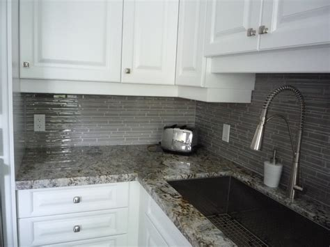Ideas For Kitchen Countertops And Backsplashes kitchen remodeling glass backsplash amp granite counter