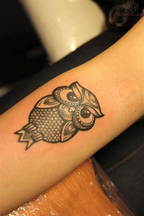 owl forearm tattoo owl tattoos tiny owl on arm tattoos