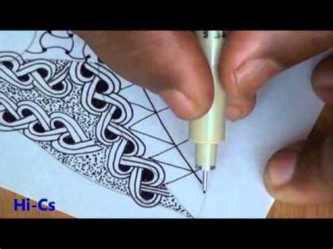 zentangle pattern henna drum hollibaugh heart rope henna drum hi cs huggins