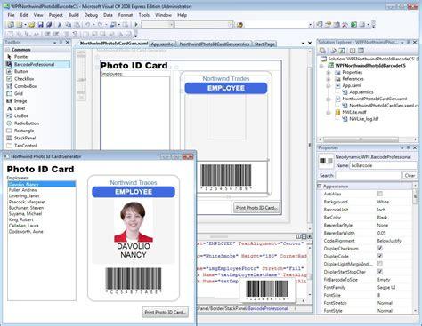layout container for windows presentation foundation wpf wpf barcode professional 4 0 shareware screenshot