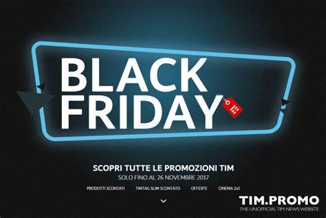 promozione tim mobile promozione tim black friday offerte fino al 26 novembre