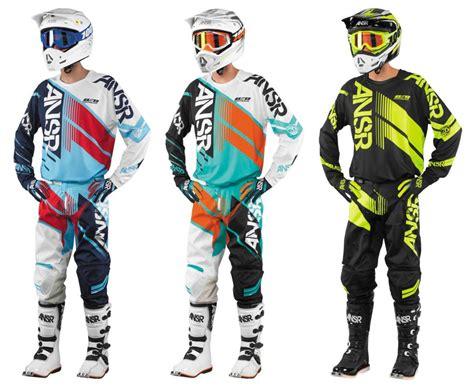 motocross pants and jersey answer 2017 elite dirt bike jersey pant glove combo
