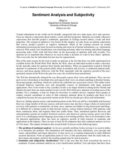pattern sentiment analysis subjectivity sentiment analysis and subjectivity