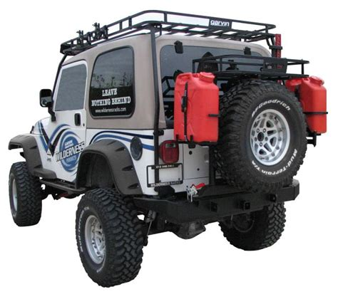 Jeep Tj Rear Tire Carrier Bumper Garvin Industries 77900 Garvin Industries G2 Series Rear