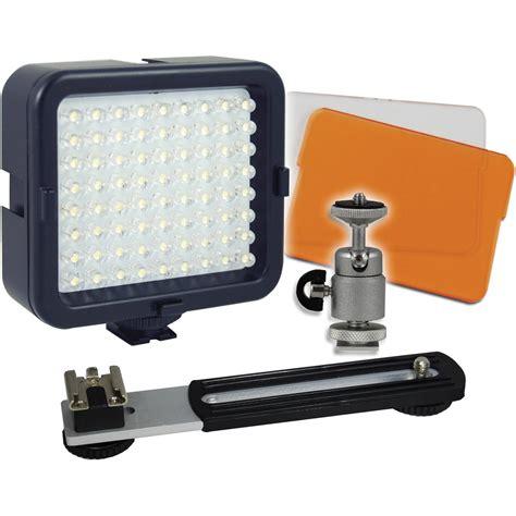 vidpro professional led light vidpro led 72 on light kit led 72 b h photo