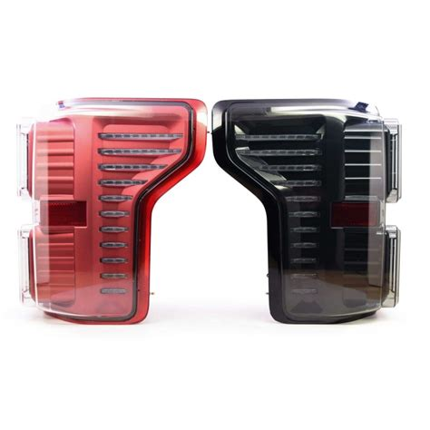 ford f150 tail lights replacement 2015 2017 ford f150 full led xb replacement tail light