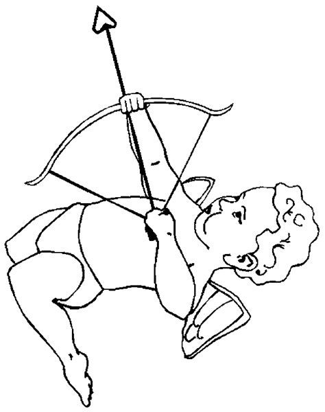 cupid coloring page coloring home