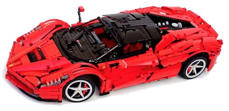 lego laferrari lego technic laferrari rc the lego car
