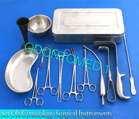 cesarean section surgical instrument set c section cesarean section set ob gynecology surgical