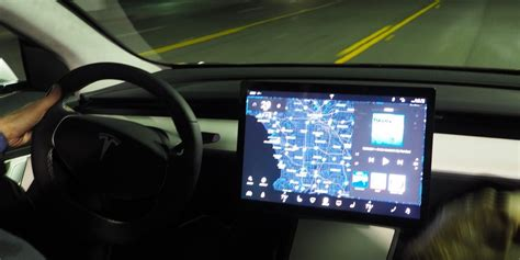 exclusive on tesla 8 0 update new autopilot features biggest ui refresh since launch and much