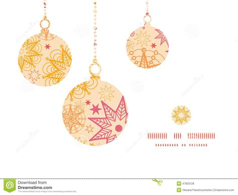 card ornaments template vector warm ornaments silhouettes stock