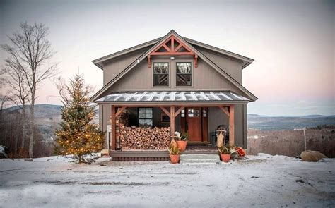 Small Barn Style Homes | happy holidays from yankee barn homes
