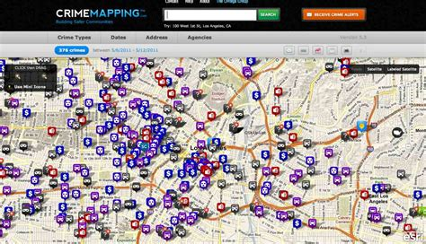 crime tracker opinions on crime mapping