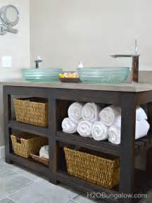 Diy bathroom vanities you can make before the guests arrive