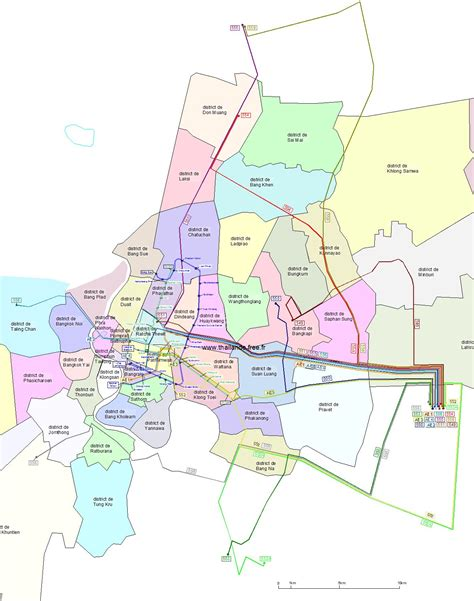 www.Mappi.net : Maps of cities : Bangkok
