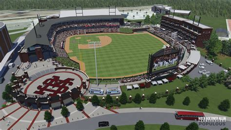 Home Plan Designs Jackson Ms by Details On Plans For Msu S New Baseball Stadium