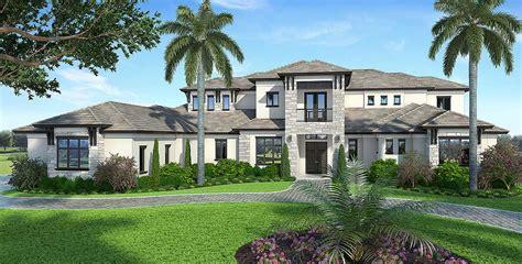 spacious contemporary florida house plan bw architectural designs house plans