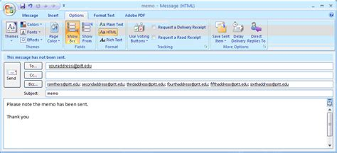 How To Send A Blind Copy Email In Outlook using the blind carbon copy bcc feature to protect the