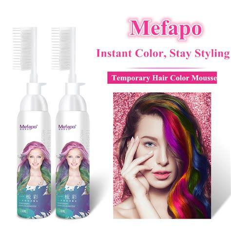 temporary hair dye product oem hair dye temporary hair color mousse buy hair color
