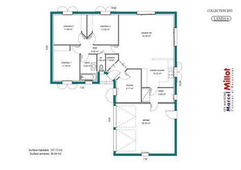 Plan Maison Plein Pied Gratuit 3383 by Modele De Plan De Maison Gratuit Simple Modele De Maison