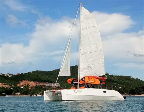 catamaran yacht tour catamaran mad dog yachts tours on koh samui