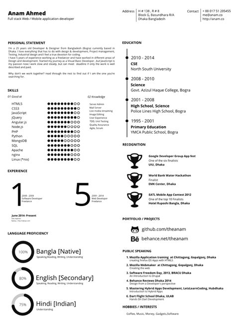 Free Cv Templates To Use by 8 Effective And Free To Use Resume Template Downloads