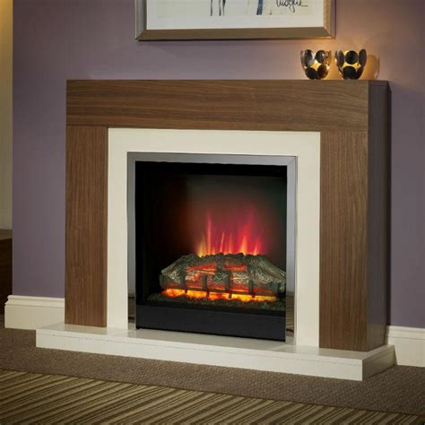 Contemporary Electric Fireplace Be Modern Brenton Electric Fireplace