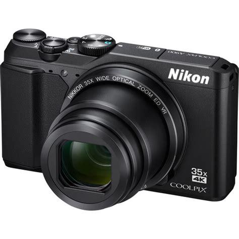 nikon coolpix  digital camera black  bh photo