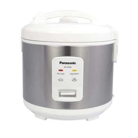 Rice Cooker Stenlis panasonic sr jn185 rice cooker stainless steel black