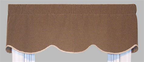 Black Cornice Valance Cornice Style Valances Patterned Solid Colored
