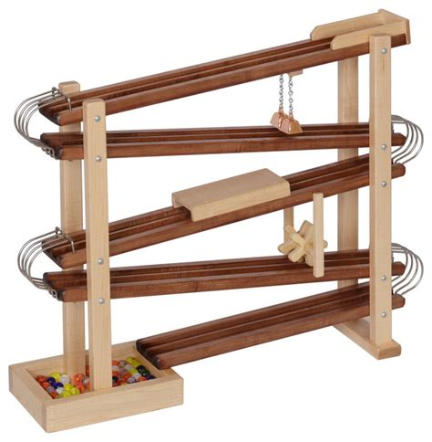 Track Lights For Kitchen - wood and metal marble race run toy roller traditional kids toys and games by clip clop toys