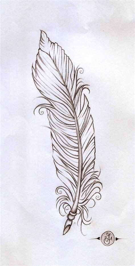 tattoo feather sketch feather linework by verisa1978 on deviantart