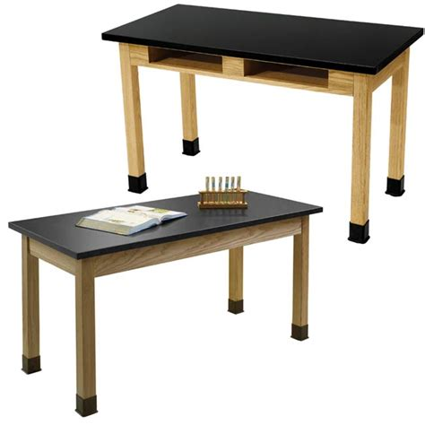 national seating table all acid resistant science lab tables by national