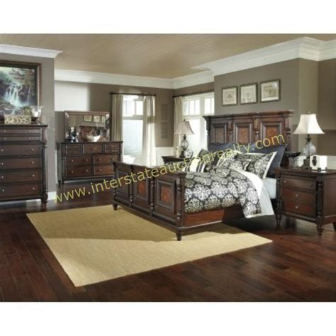 king size bedroom suite lot 274 ashley millennium b668 king size bedroom suite