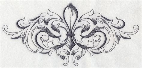 Machine Embroidery Designs At Embroidery Library Fleur De Lis Designs For
