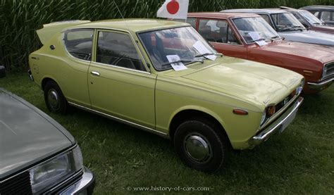nissan datsun 1970 nissan 1970 datsun cherry 100a the history of cars