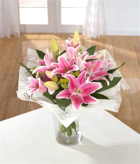 How To Arrange Lilies In A Vase by Flowers Bouquets Roses Same Day Delivery Wedding Flowers Farnham Florist